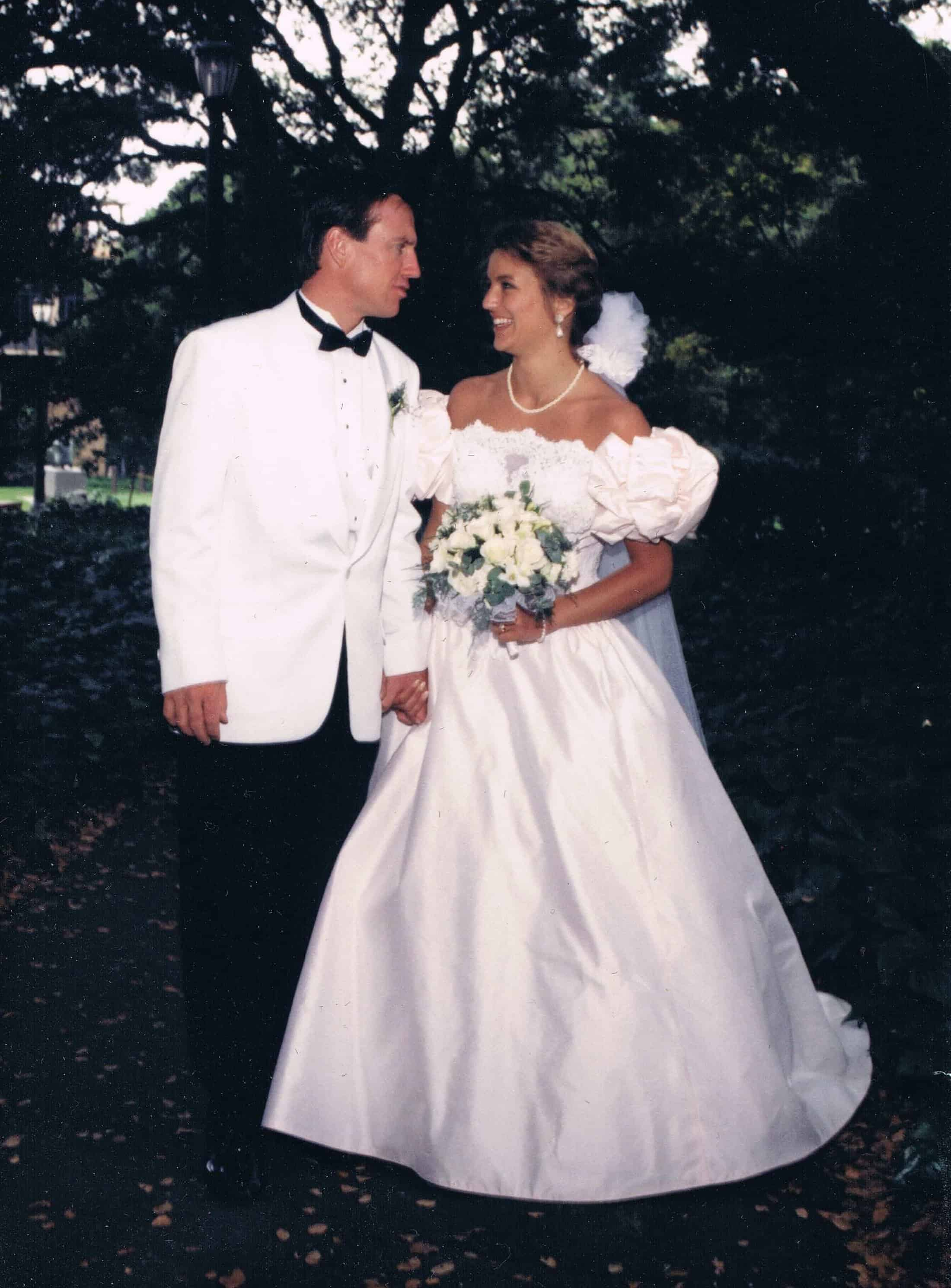 Married to Topher July 6, 1991