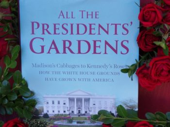 All the Prsidents' Gardens book in summer chair